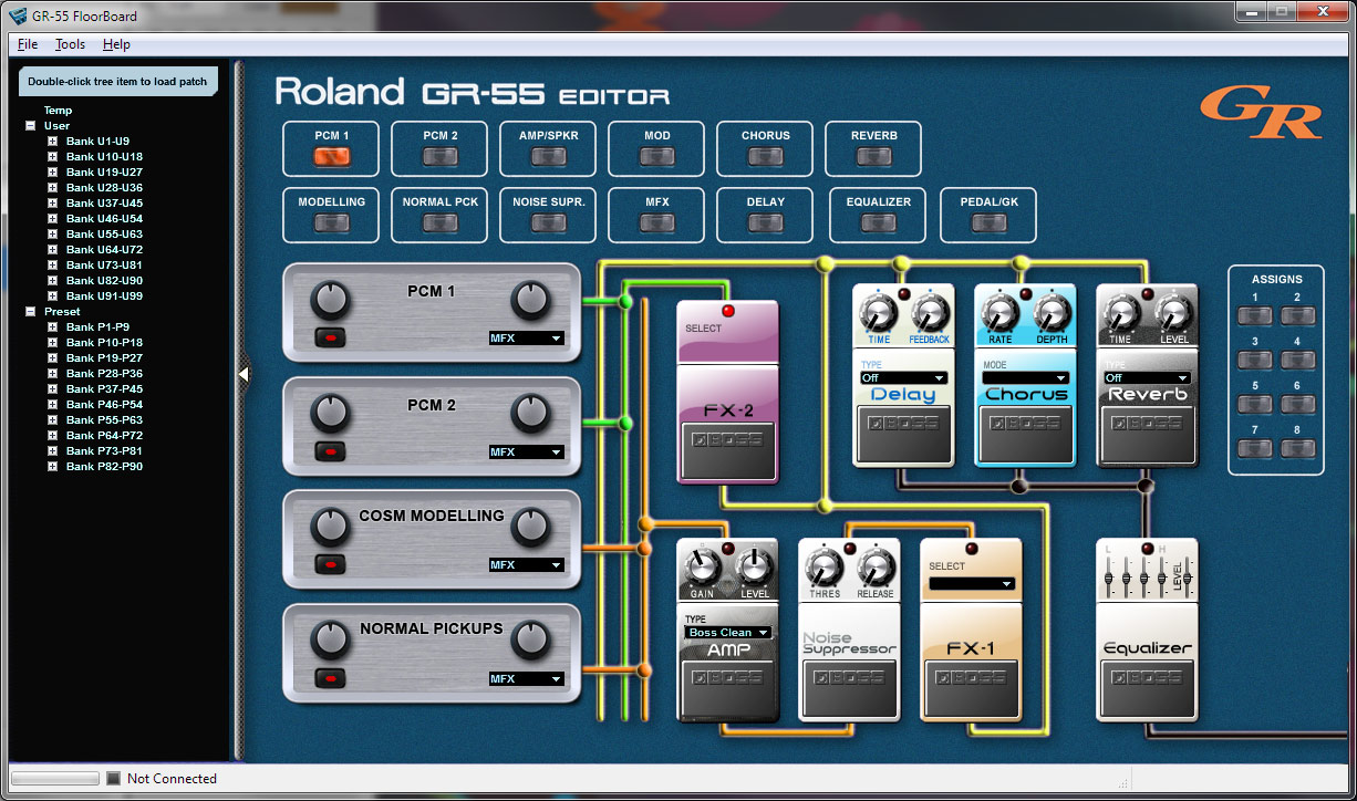 Roland gr 55 patches download.